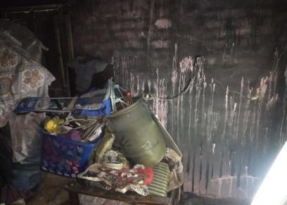 الحريق يلتهم شقة سيدة بعزبة النخل