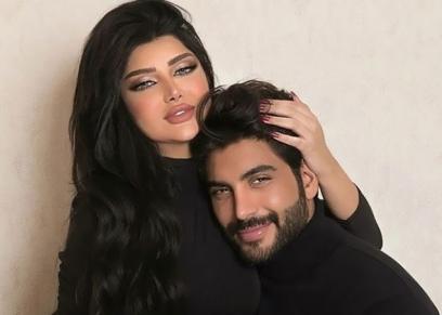 الفاشينيستا ملكة كابلي وزوجها أحمد سالم