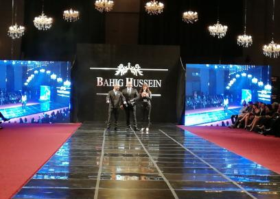 عرض أزياء بهيج حسين