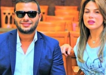 رامي صبري وزوجته