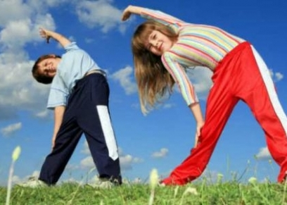 التمارين الرياضية للأطفال