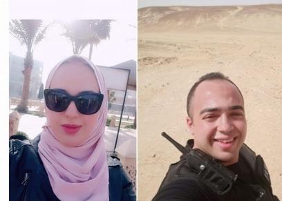 الشهيد مصطفى عثمان وشقيقته