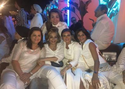 وزيرات مصر يتألقن في حفل جينيفر لوبيز