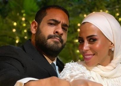 ماهيتاب ماجد المصري في حفل خطبتها
