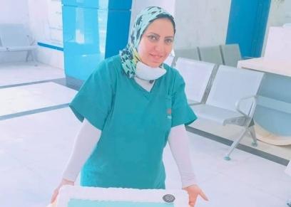 هاجر حسن اخصائي جراحة بمستشفى العزل بالعجمي