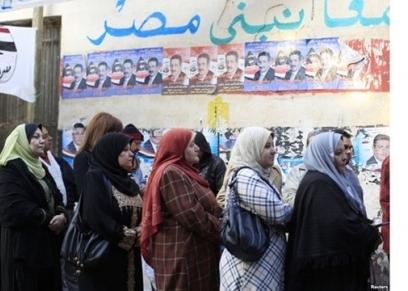 مشاركة المرأة في الانتخابات