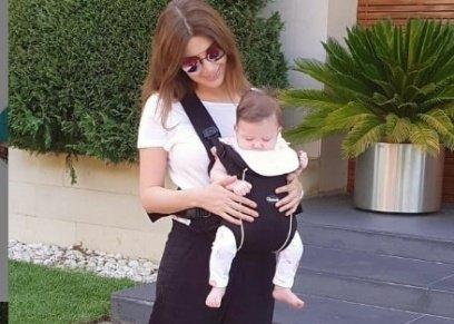 نانسي عجرم مع ابنتها