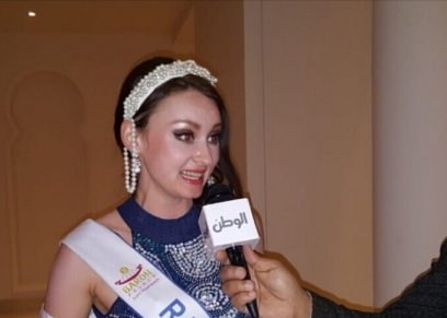 ناتشا ملكة جمال روسيا في مسابقة حورية البحر