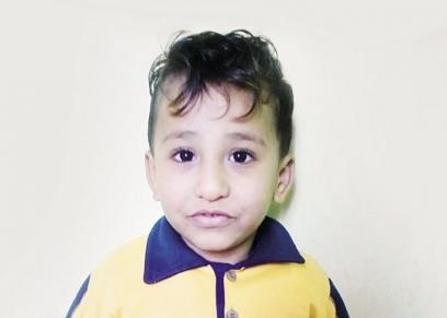 الطفل محمد أسامة