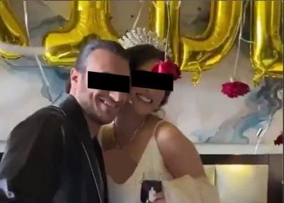 مراسم زفاف بالروب