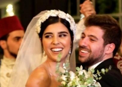 زواج زينة مكي ونبيل خوري