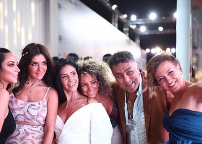 الفنانات في مهرجان الجونة