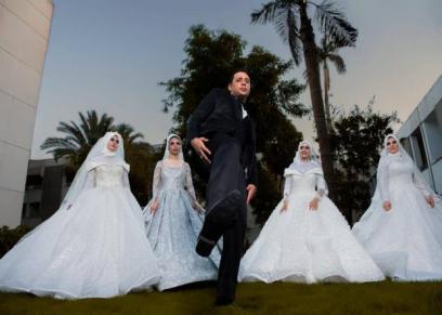 سيشن زفاف وهمي