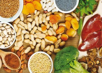 اطعمة تحتوى على عنصر الحديد