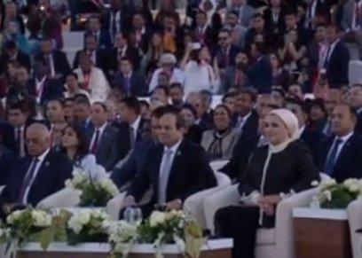 مناسبات تألقت فيها قرينة الرئيس
