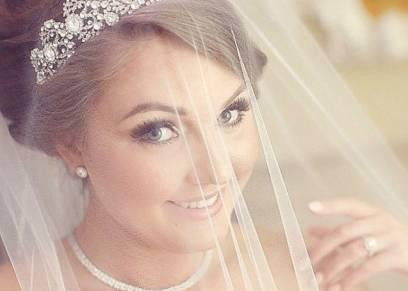 أجمل تيجان العرائس لإطالة مكتملة يوم الزفاف
