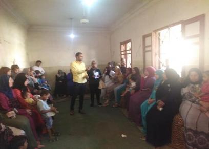 حملة طرق الأبواب بمحافظة أسيوط