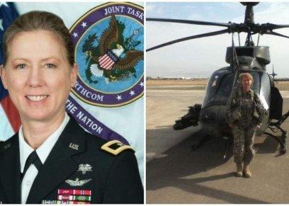 لورا ياجر - أول امرأة تقود فرقة مشاة في الجيش الأمريكي