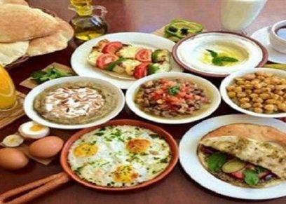 مائدة سحور أول يوم رمضان