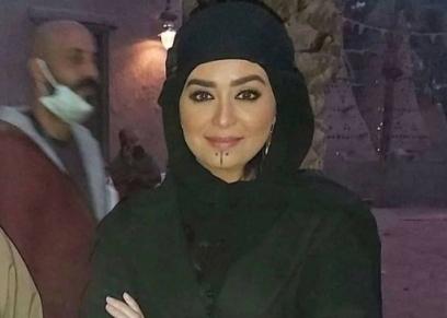 هبة مجدي في كواليس مسلسل موسى
