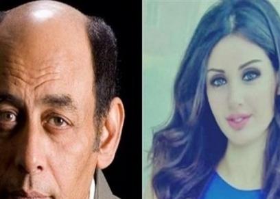 أحمد بدير ونجلته سارة