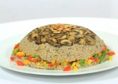 أرز بالمشروم
