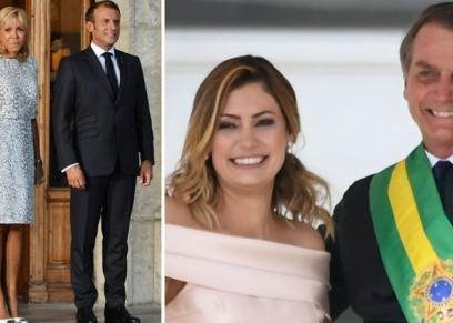 الرئيسان البرازيلي وزوجاتهن