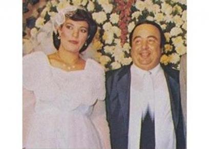 يونس شلبي وزوجته