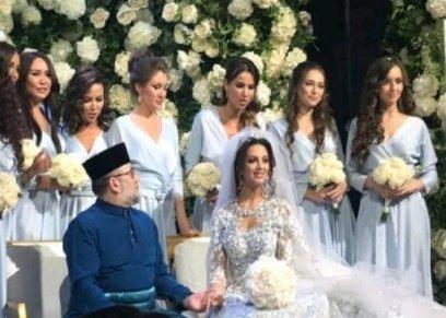 مصادر تكشف عن زيارة ملك ماليزيا وملكة جمال روسيا لعياة للخصوبة قبل زفافهما بأيام