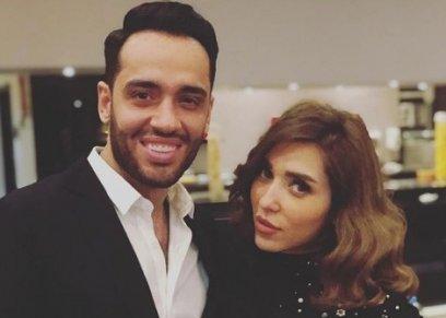 رامي جمال وزوجته