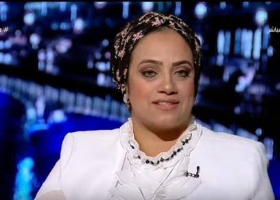 والدة حسن وليد قداح لاعب منتخب مصر لكرة اليد تحت 19 عاما