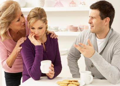المشكلات الزوجية