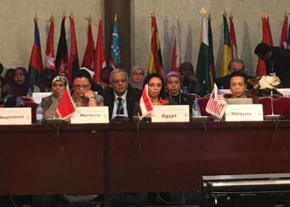 مايا مرسي من بوركينا فاسو: مصر تولي الأولوية لقضايا المرأة