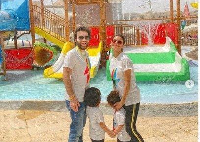 ريهام أيمن تتعرض للانتقاد من جديد بسبب أطفالها