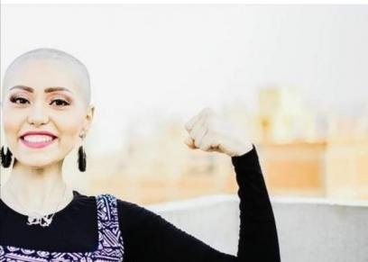 إيمان أحمد محاربة السرطان