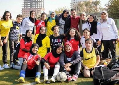 فريق كرة قدم نسائي في المنيا