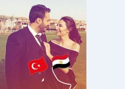 عروس مصرية وعريس تركي