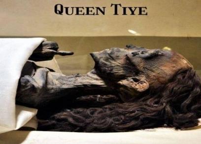 شعر الملكة تي