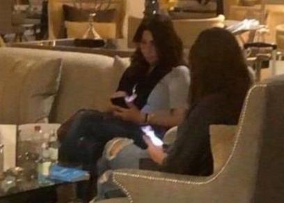 إليسا خلال تواجدها باحد فنادق الرياض
