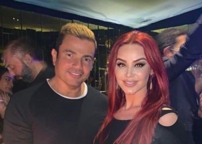 عمرو دياب مع أوكسانا