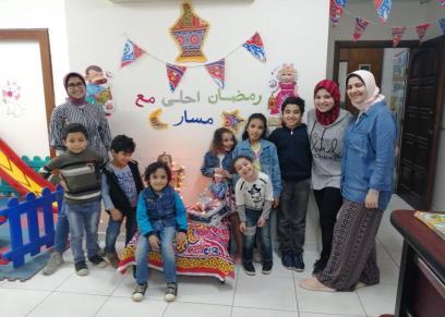 خيمة رمضانية لأطفال الإسكندرية