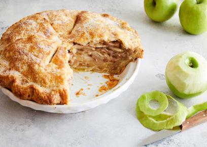 طريقة عمل فطيرة التفاح
