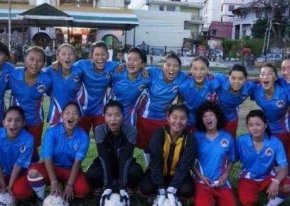 فريق نسائي لكرة القدم من التبت