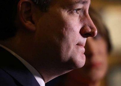 المرشح الرئاسي السابق تيد كروز