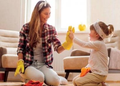 إرشادات للتعامل مع الأطفال أثناء الحجر المنزلي