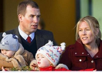حفيد الملكة وزوجته