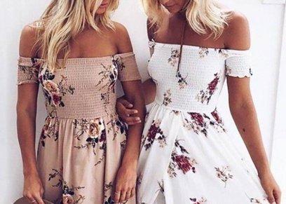 موضة الفساتين