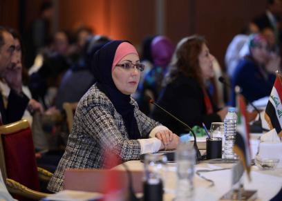 الجلسة الإفتتاحية للاجتماع الثامن للمجلس الأعلي على مستوى السيدات الأول في الوطن العربي