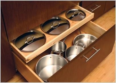 تخزين أدوات الطهي