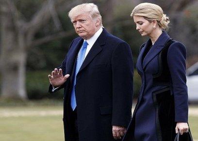 ترامب وابنته